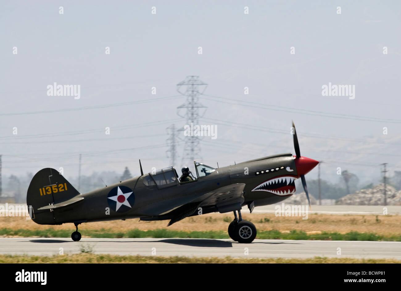 Curtiss P 40 Kittyhawk Stock Photos & Curtiss P 40 Kittyhawk