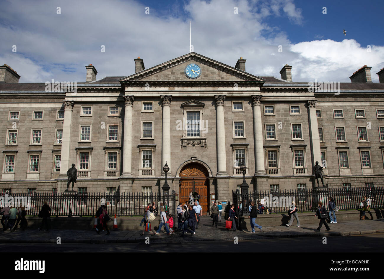 trinity college dublin tcd university dublin city centre republic of ireland - Stock Image