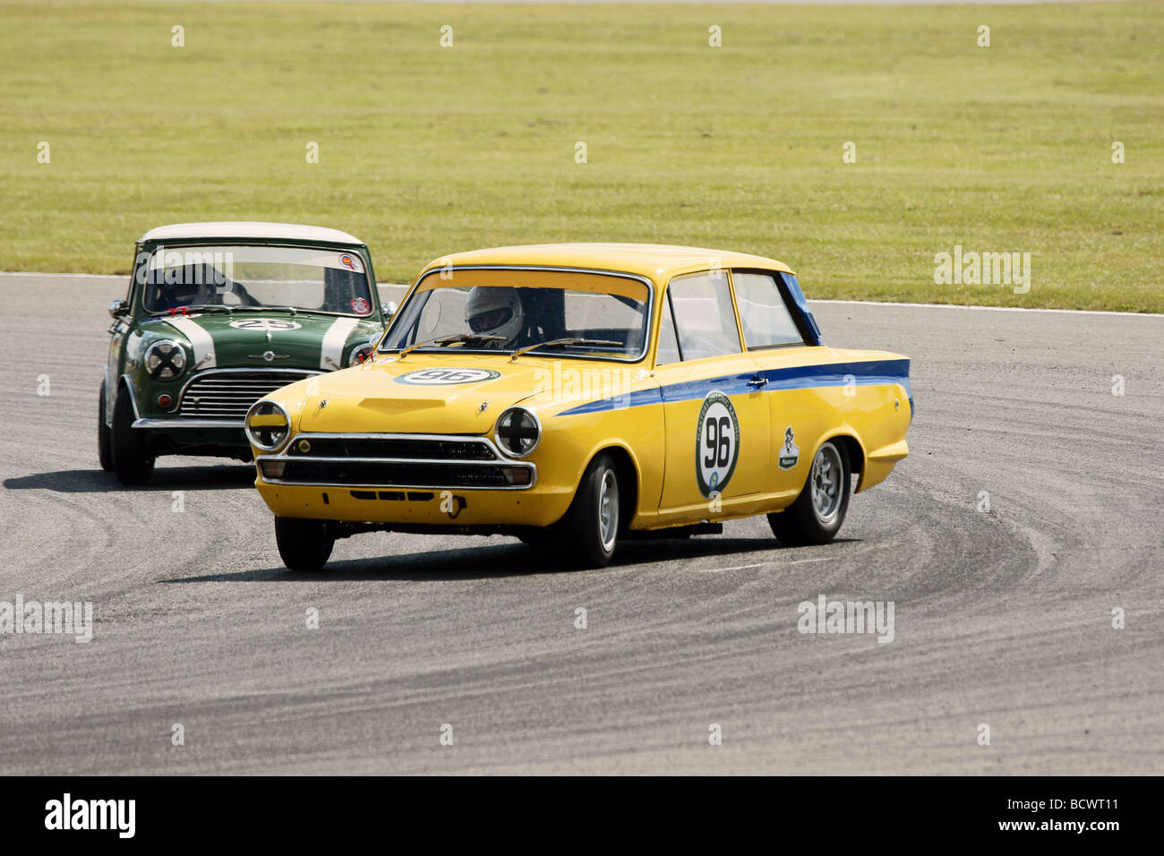 Drifting Lotus Cortina Stock Photo