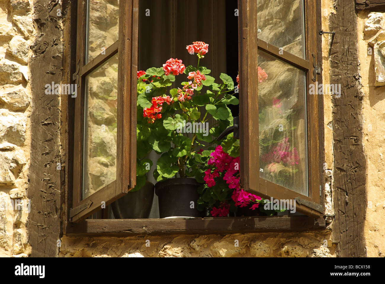 Fenster window 17 - Stock Image