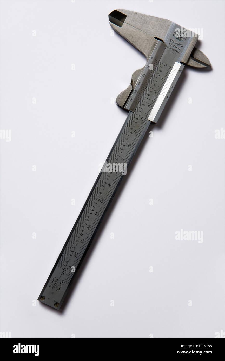 vernier calipers - Stock Image