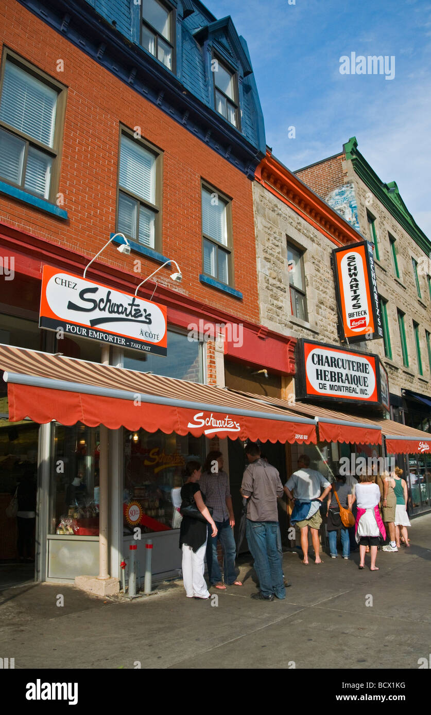 Famous Montreal Smoked Meat Restaurant