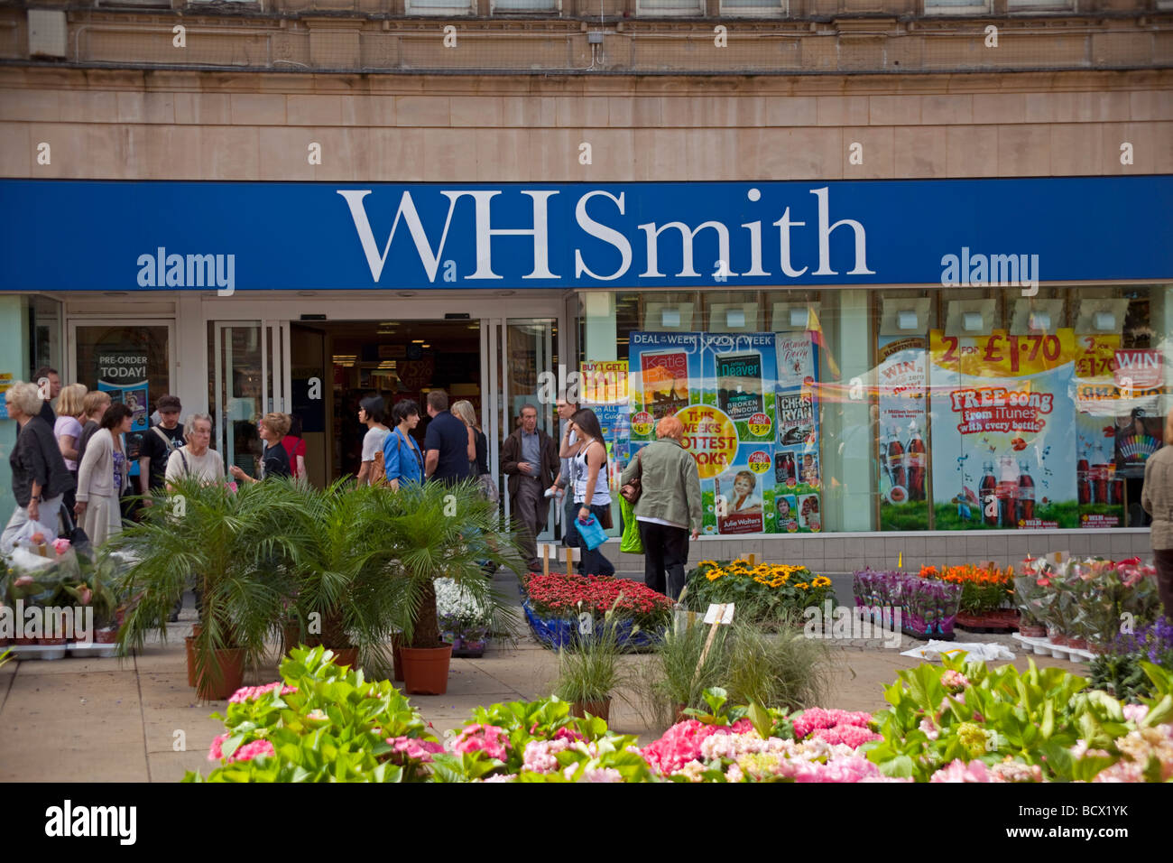 WH Smiths - Stock Image