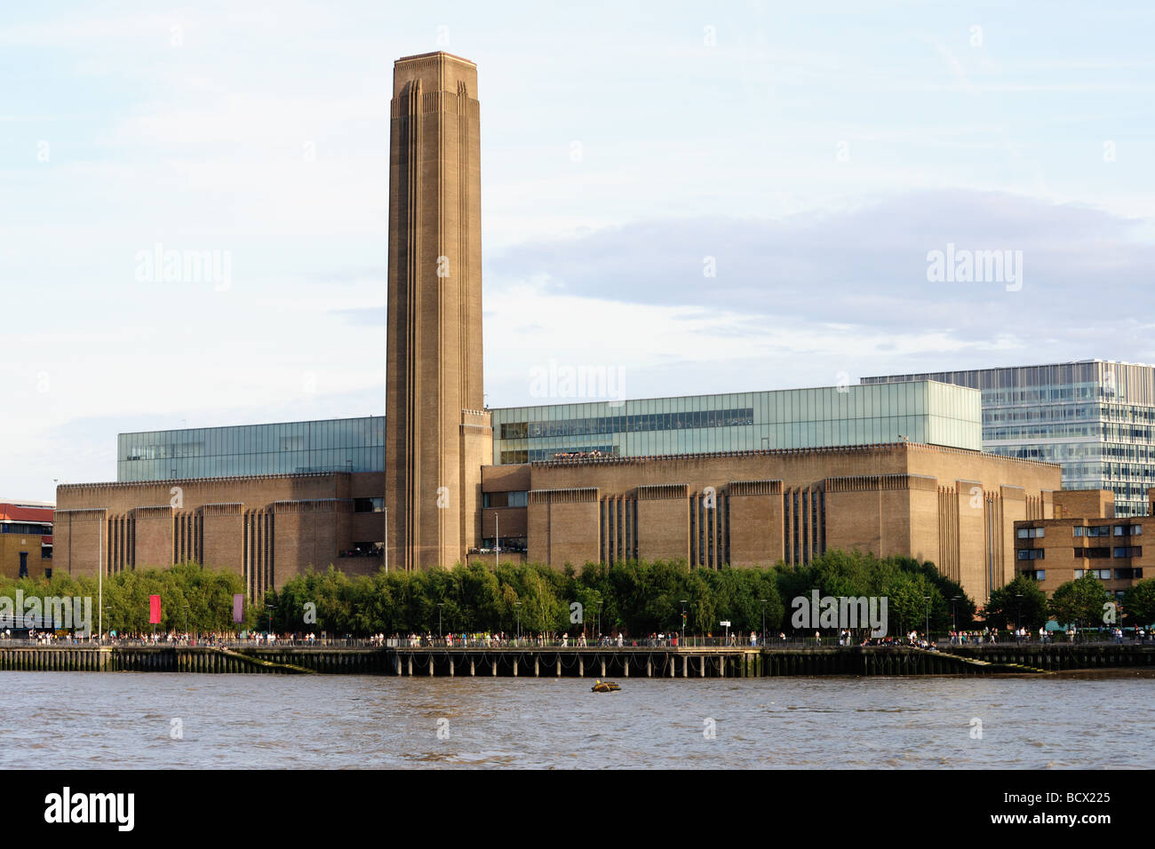 Tate Modern, national museum of international modern art, the disused Bankside power station, London, England, UK, - Stock Image