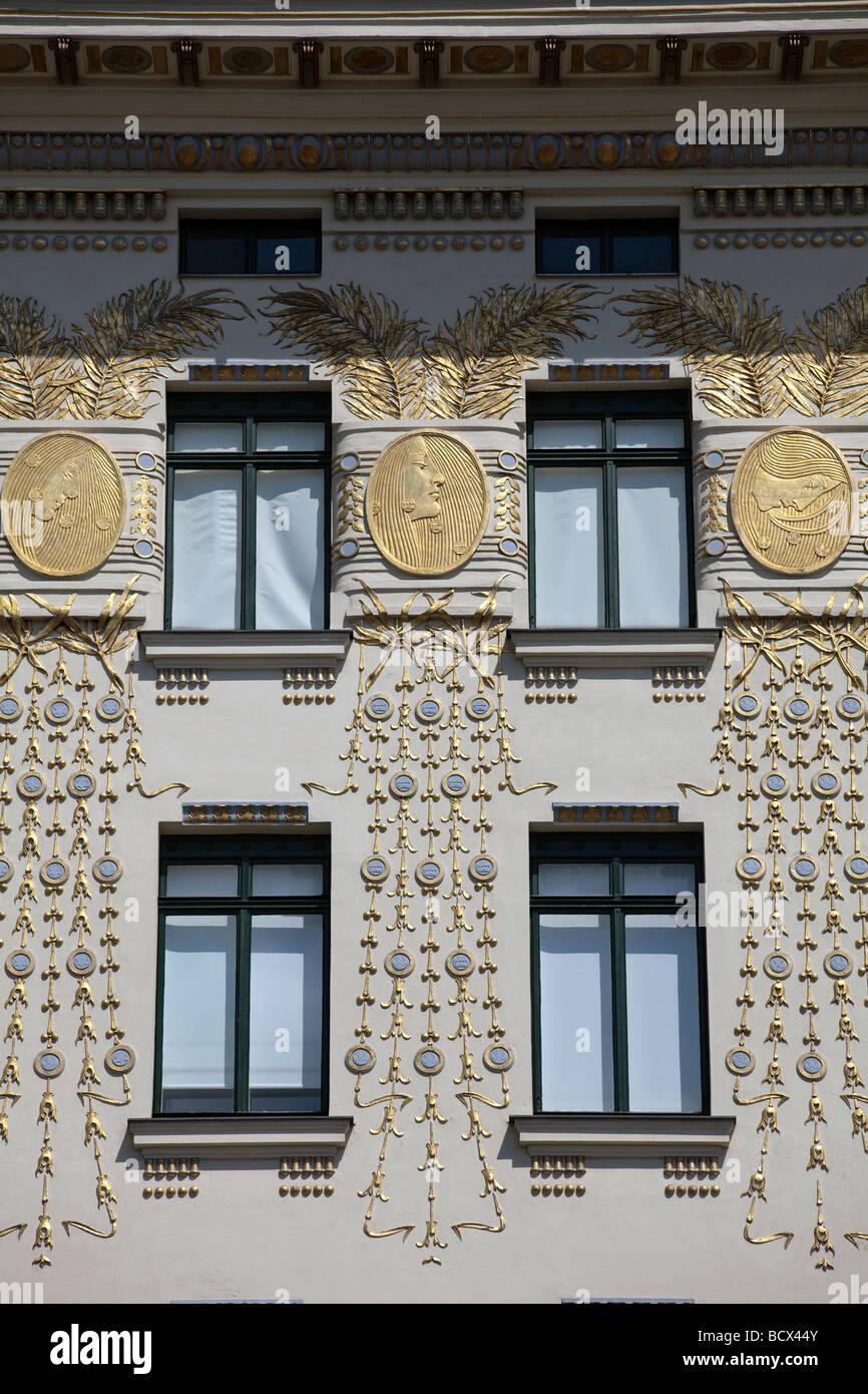 Medallion House, Vienna, Austria - Stock Image
