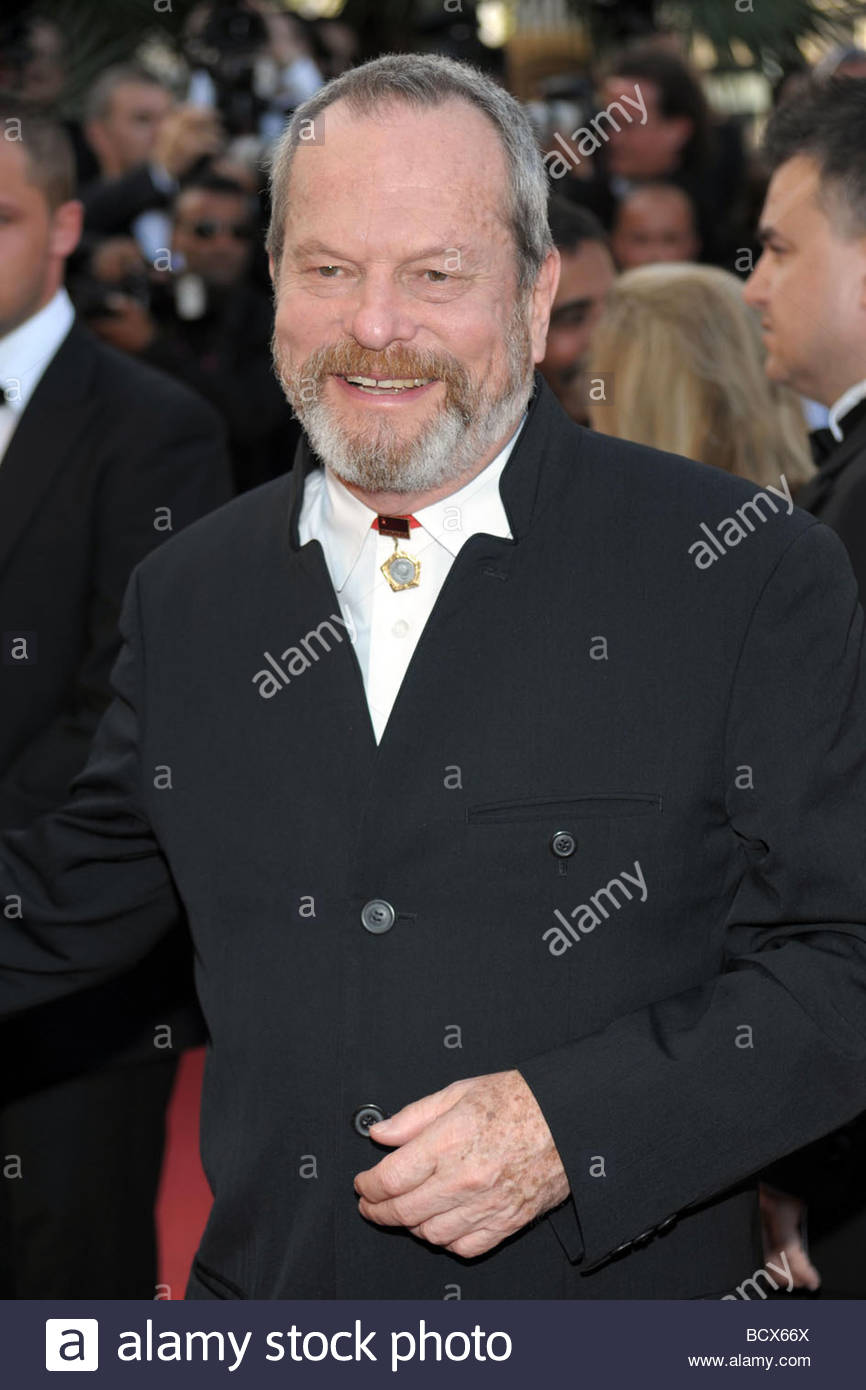 terry gilliam, cannes 2009, 62nd cannes film festival - Stock Image