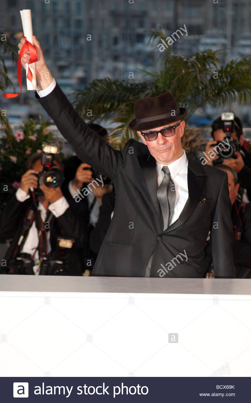 jacques audiard, grand prix award, cannes 2009, 62nd cannes film festival - Stock Image