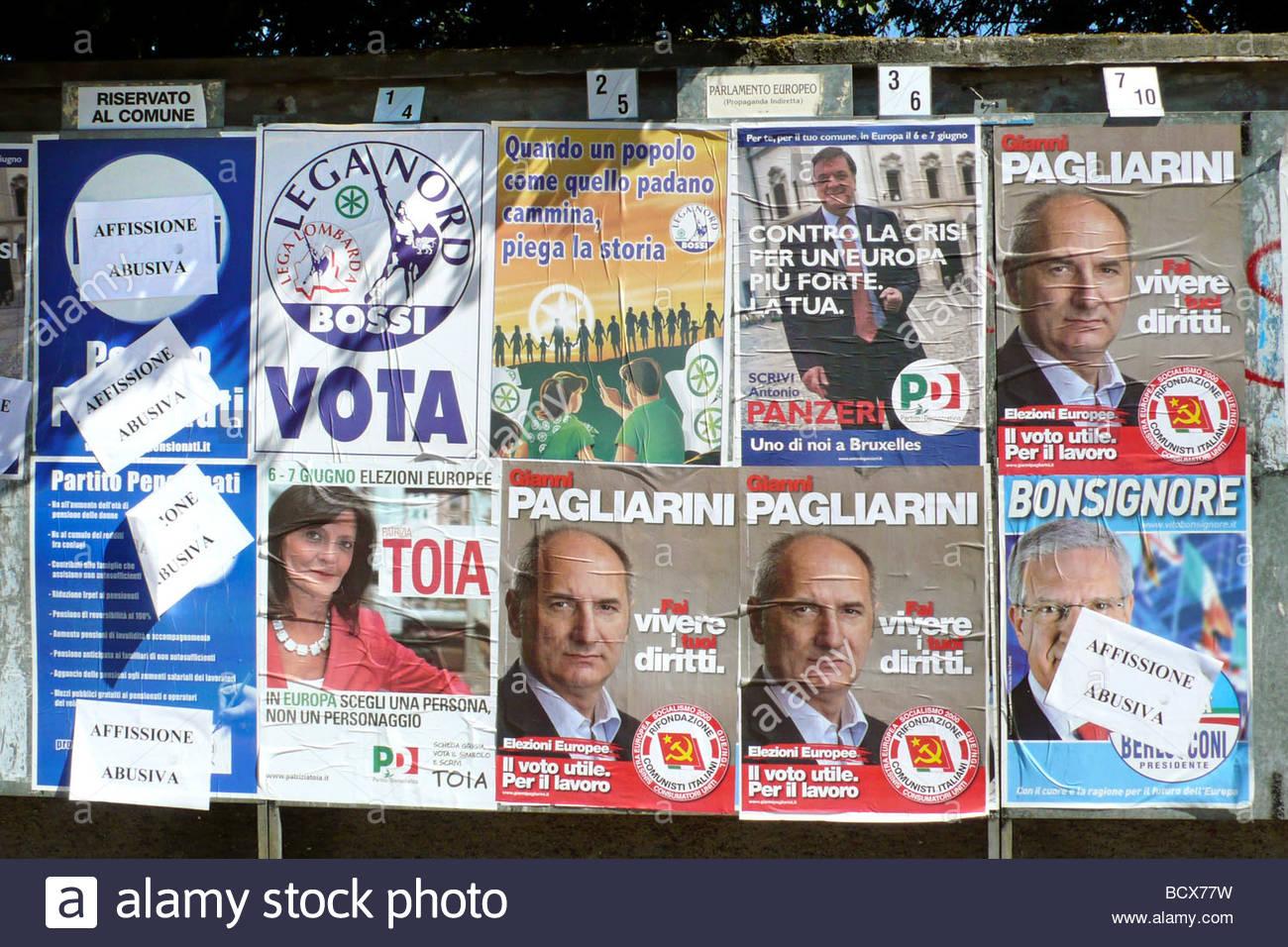 electoral campaign Stock Photo