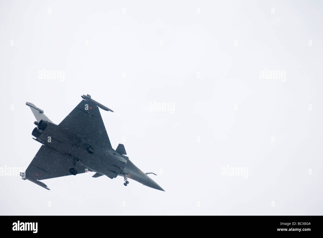 Dassault Mirage 2000 a French multirole fighter jet in flight - Stock Image