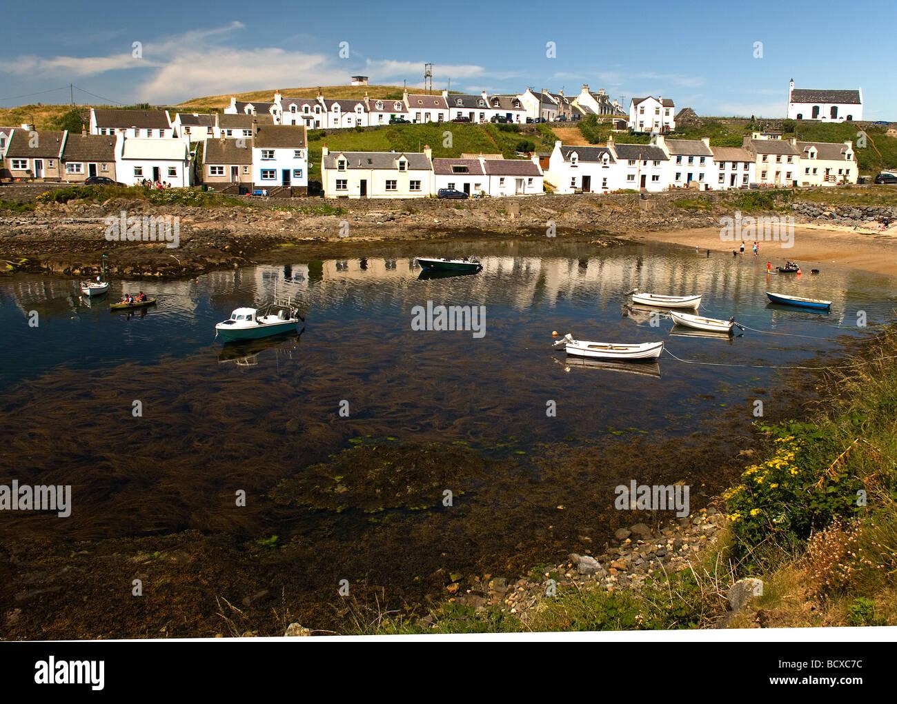 Portnahaven Islay Scotland - Stock Image