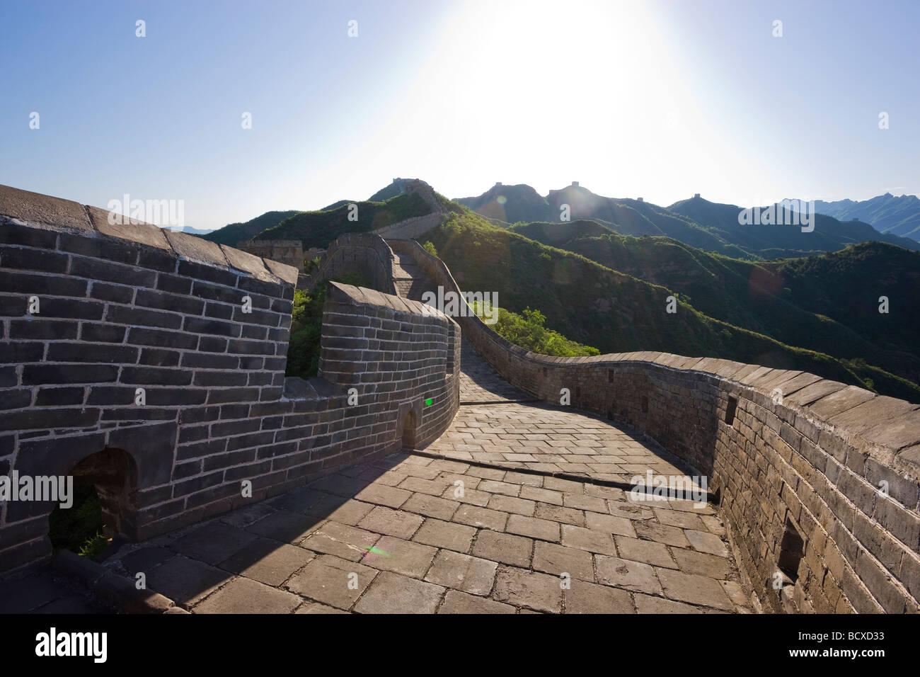 Great Wall of China - Stock Image