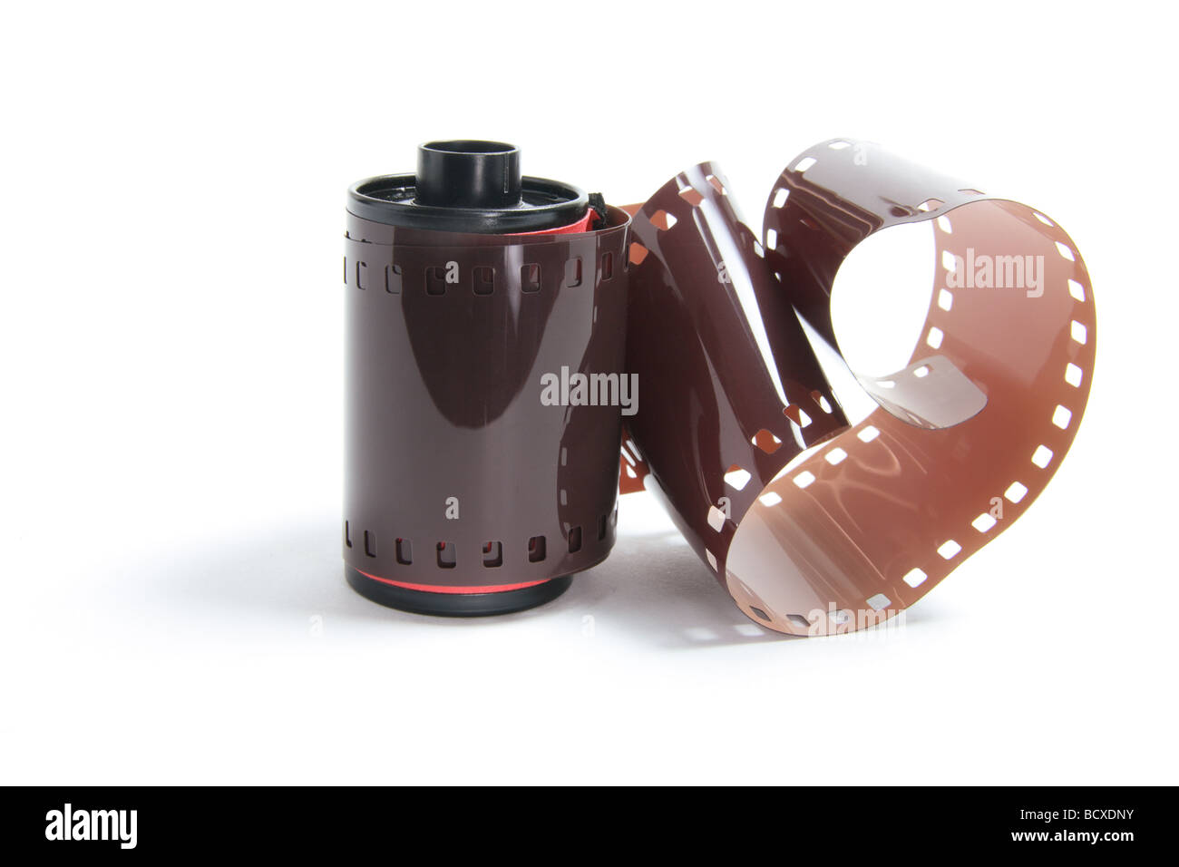 Roll of Camera Film - Stock Image
