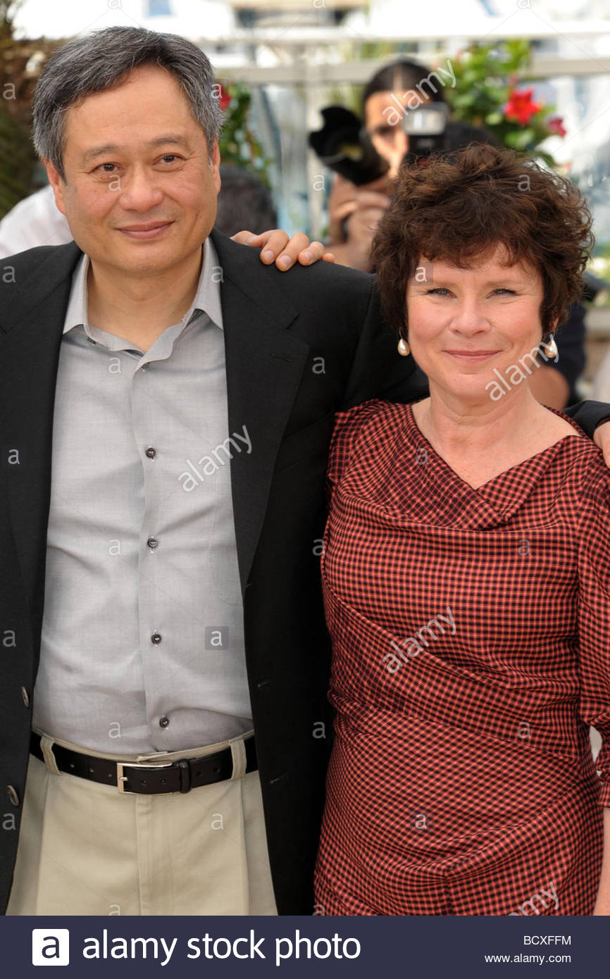 ang lee, imelda staunton, cannes 2009, 62nd cannes film festival - Stock Image