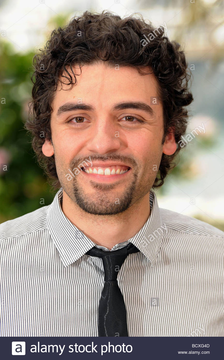 oscar isaac, cannes 2009, 62nd cannes film festival - Stock Image