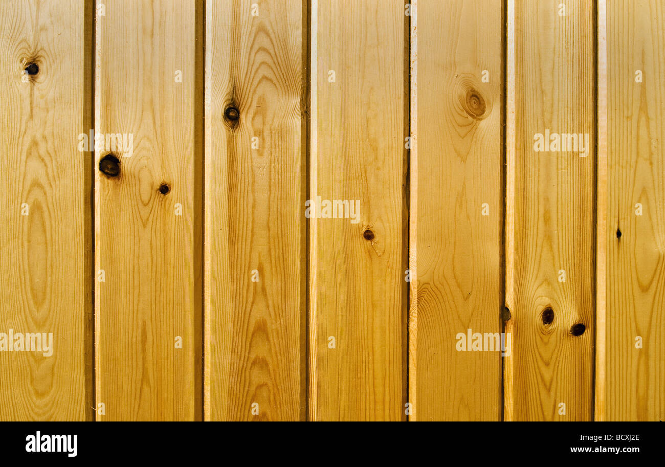 Light brown wood texture with natural patterns - Stock Image