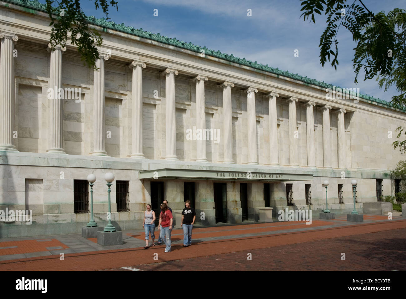 The Toledo Museum of Art Toledo Ohio - Stock Image