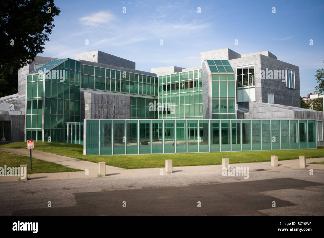 University of Toledo Center for Visual Arts by Frank Gehry Toledo Ohio is part of Museum of Art campus - Stock Image