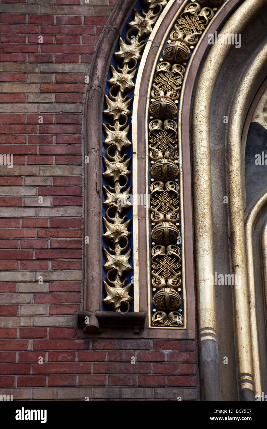 detail of decoration, Griechische Kirche, Greek Orthodox Church of the Holy Trinity, Vienna, Austia - Stock Image