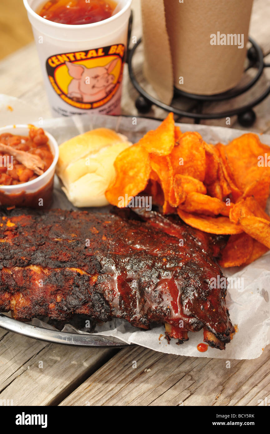 Usa Tennessee Memphis Central Bbq Restaurant Southern Style