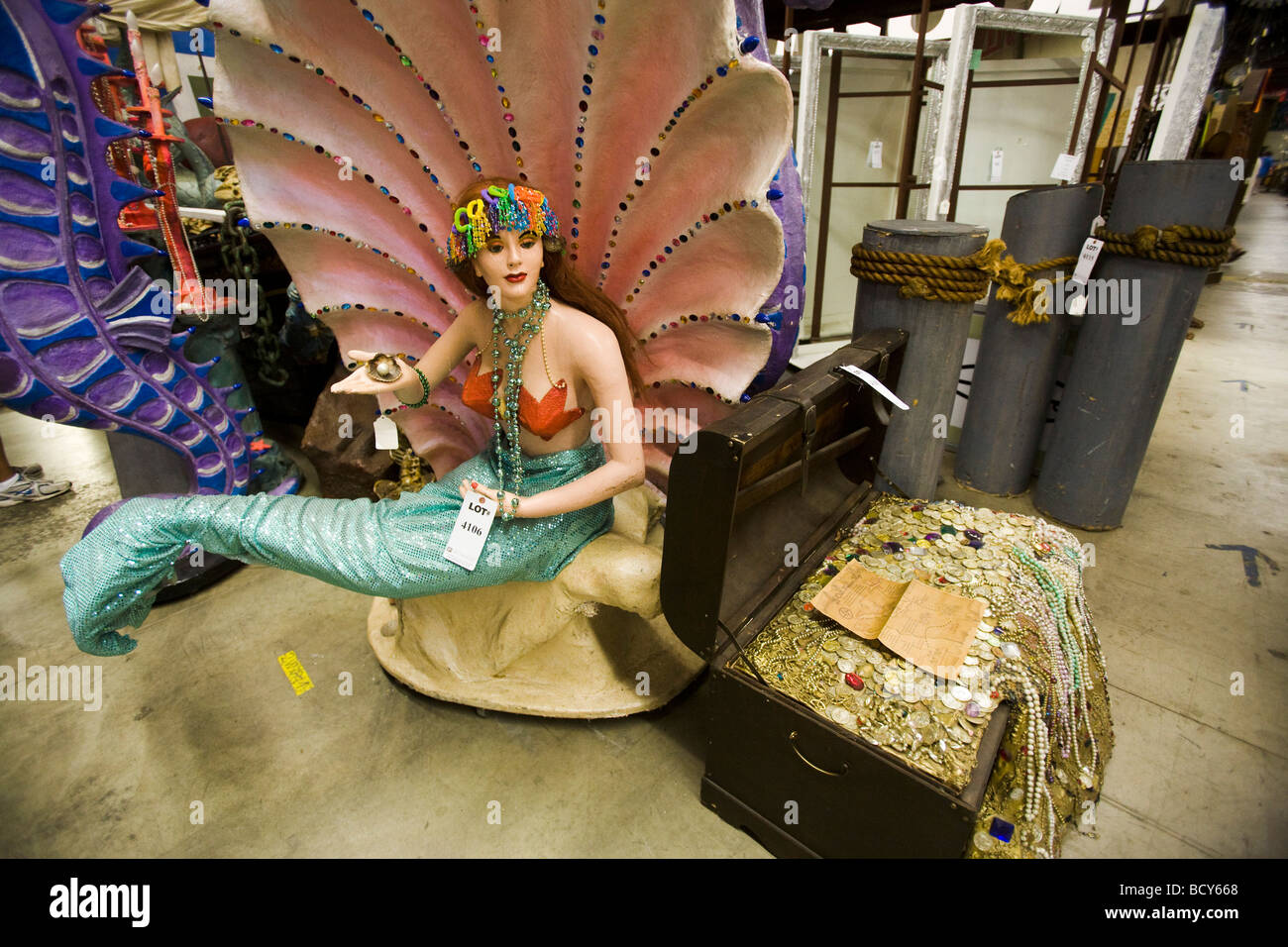 20th Century Props props prop prop house North Hollywood Los Angeles - Stock Image
