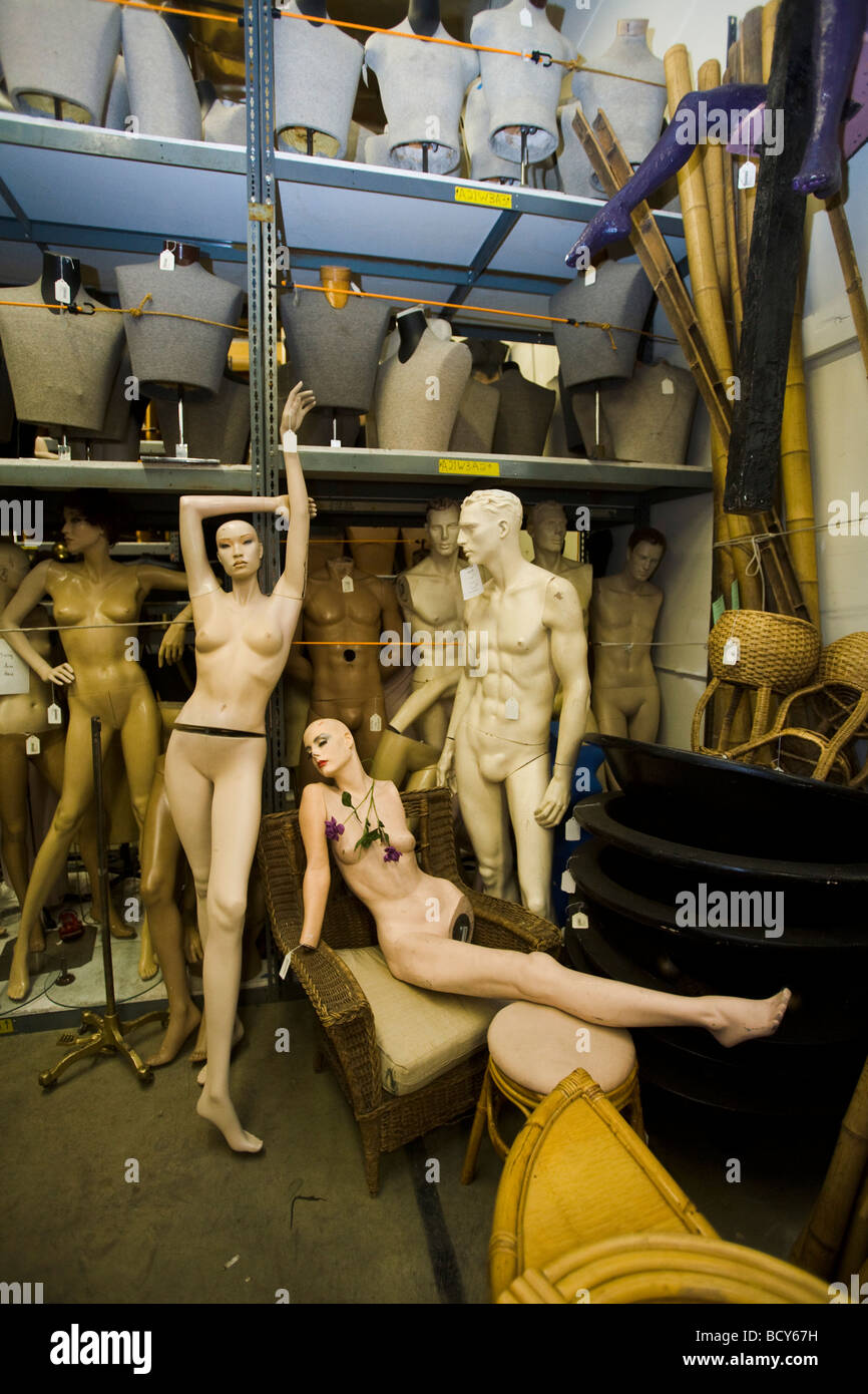 manikins 20th Century Props North Hollywood Los Angeles - Stock Image