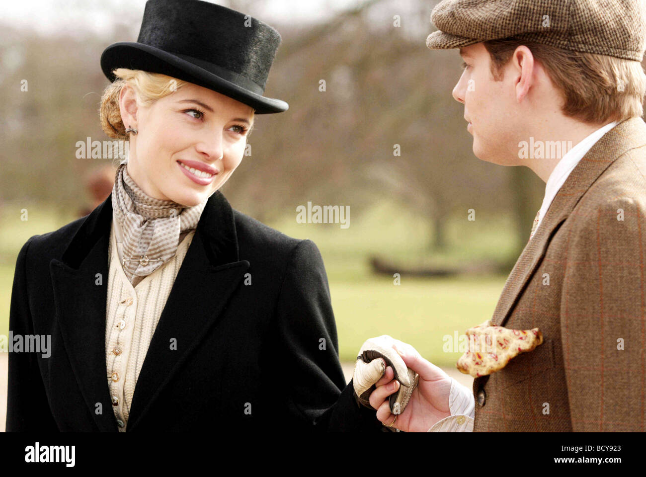 Easy Virtue Year : 2009 Director : Stephan Elliott Jessica Biel, Christian Brassington - Stock Image