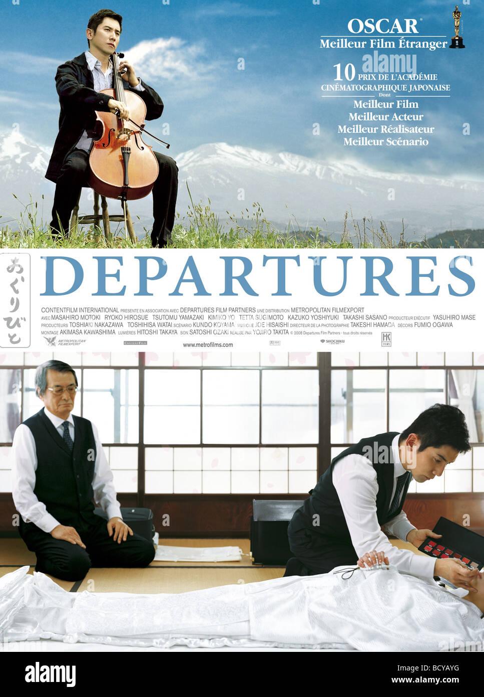 Okuribito Departures Year 2008 Director Yojiro Takita Movie Stock Photo Alamy