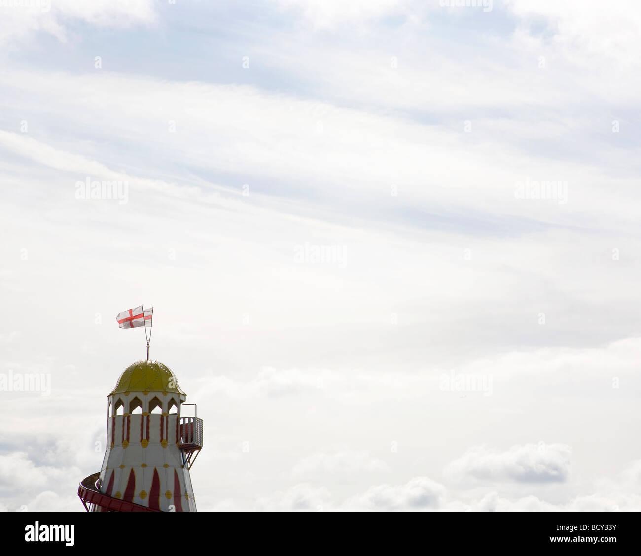 Helter Skelter Sky - Stock Image