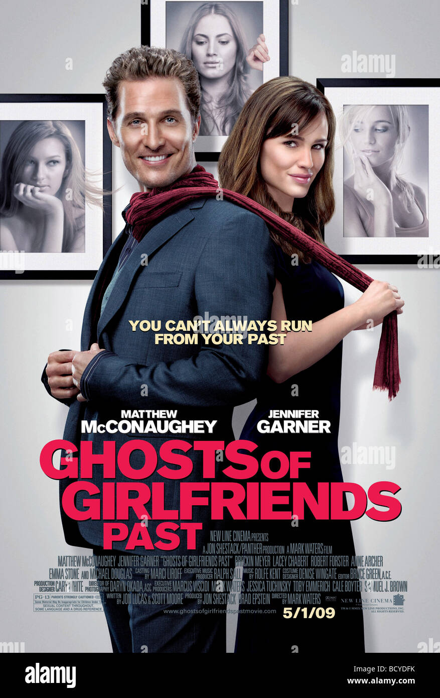 Ghosts of Girlfriends Past Year : 2009 Director : Mark Waters Jennifer Garner, Matthew McConaughey - Stock Image