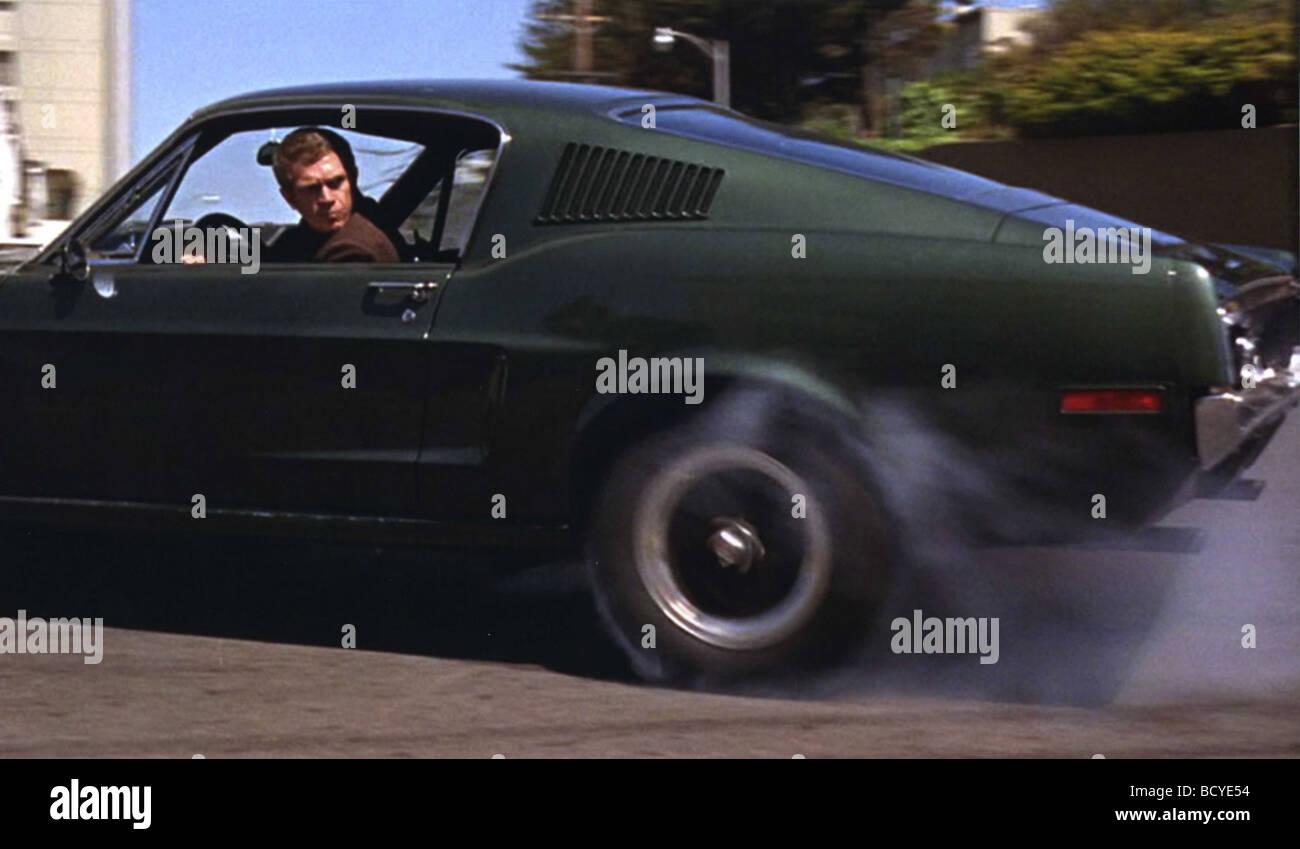 Bullitt Year : 1968 Director : Peter Yates  Steve McQueen - Stock Image