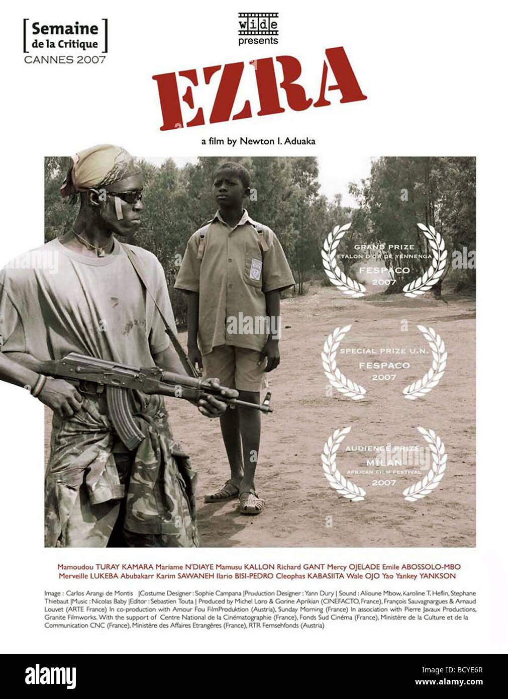Ezra Year : 2007 Director : Newton I Aduaka Movie poster - Stock Image