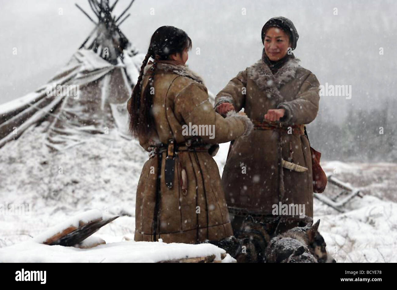 Far North Year : 2007 Director : Asif Kapadia Michelle Krusiec, Michelle Yeoh, - Stock Image