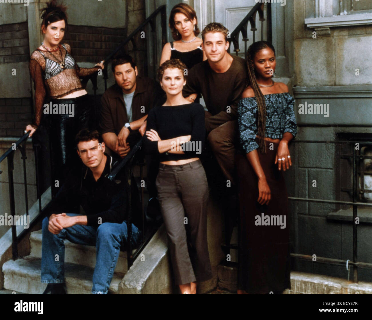 Felicity (TV series ) Year  1998 - 2002 Creator  J.J. Abrams Amanda Foreman, Scott Foley, Greg Grunberg, Keri Russel, - Stock Image