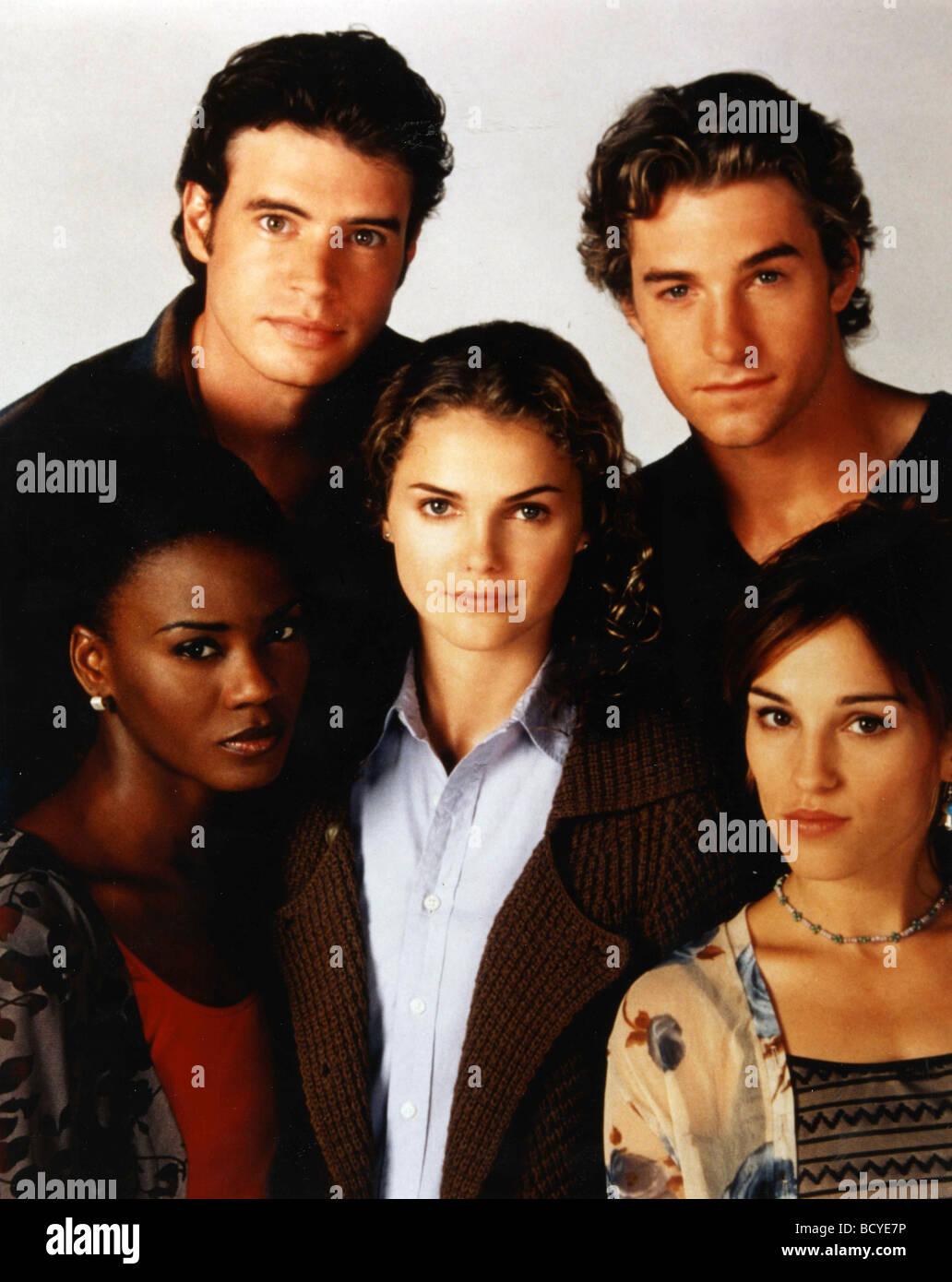 Felicity (TV series ) Year  1998 - 2002 Creator  J.J. Abrams Tangi Miller, Scott Foley, Keri Russel, Scott Speedman, - Stock Image