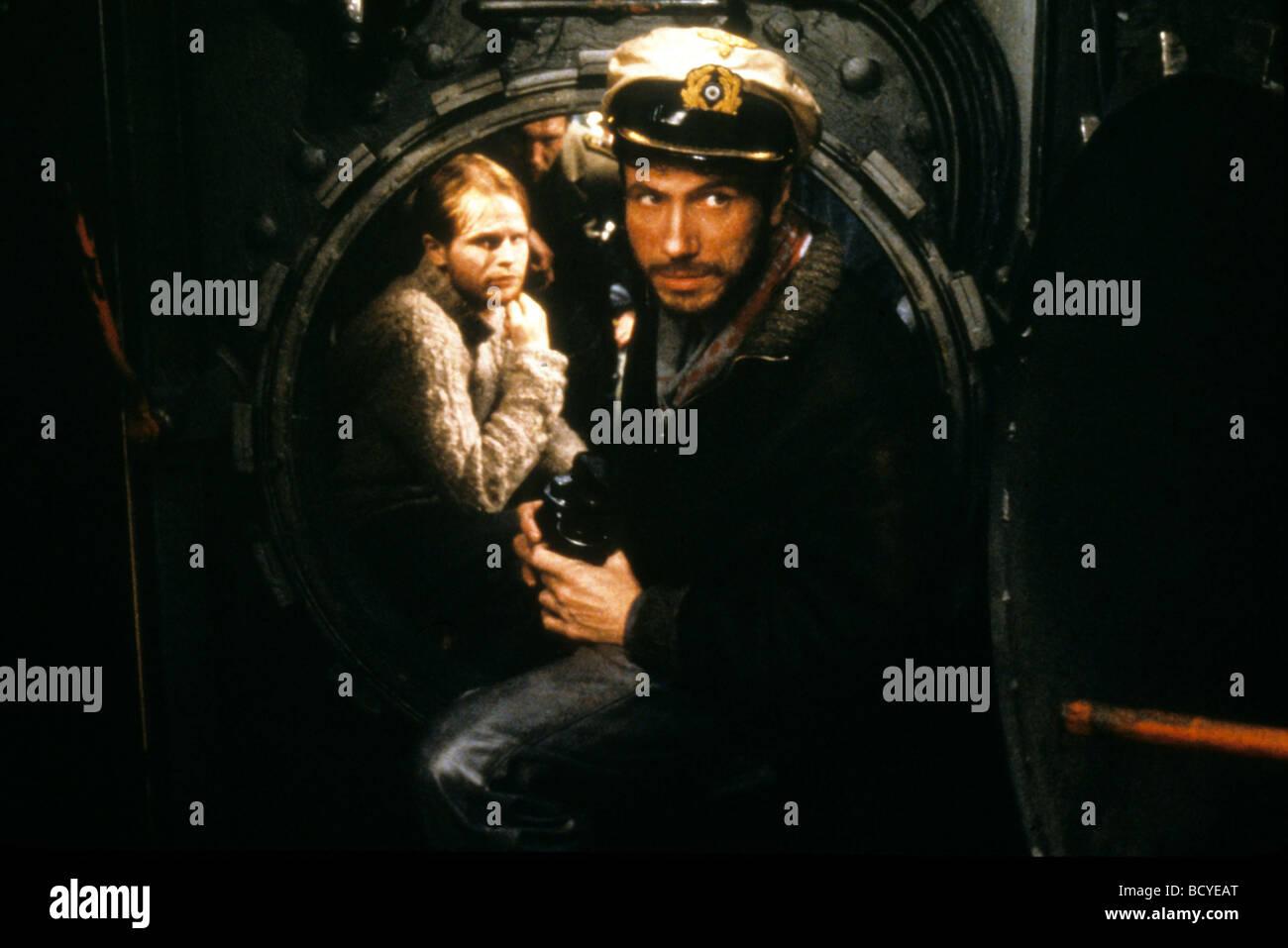 Das Boot Year :1981 Director : Wolfgang Petersen Jurgen Prochnow, - Stock Image