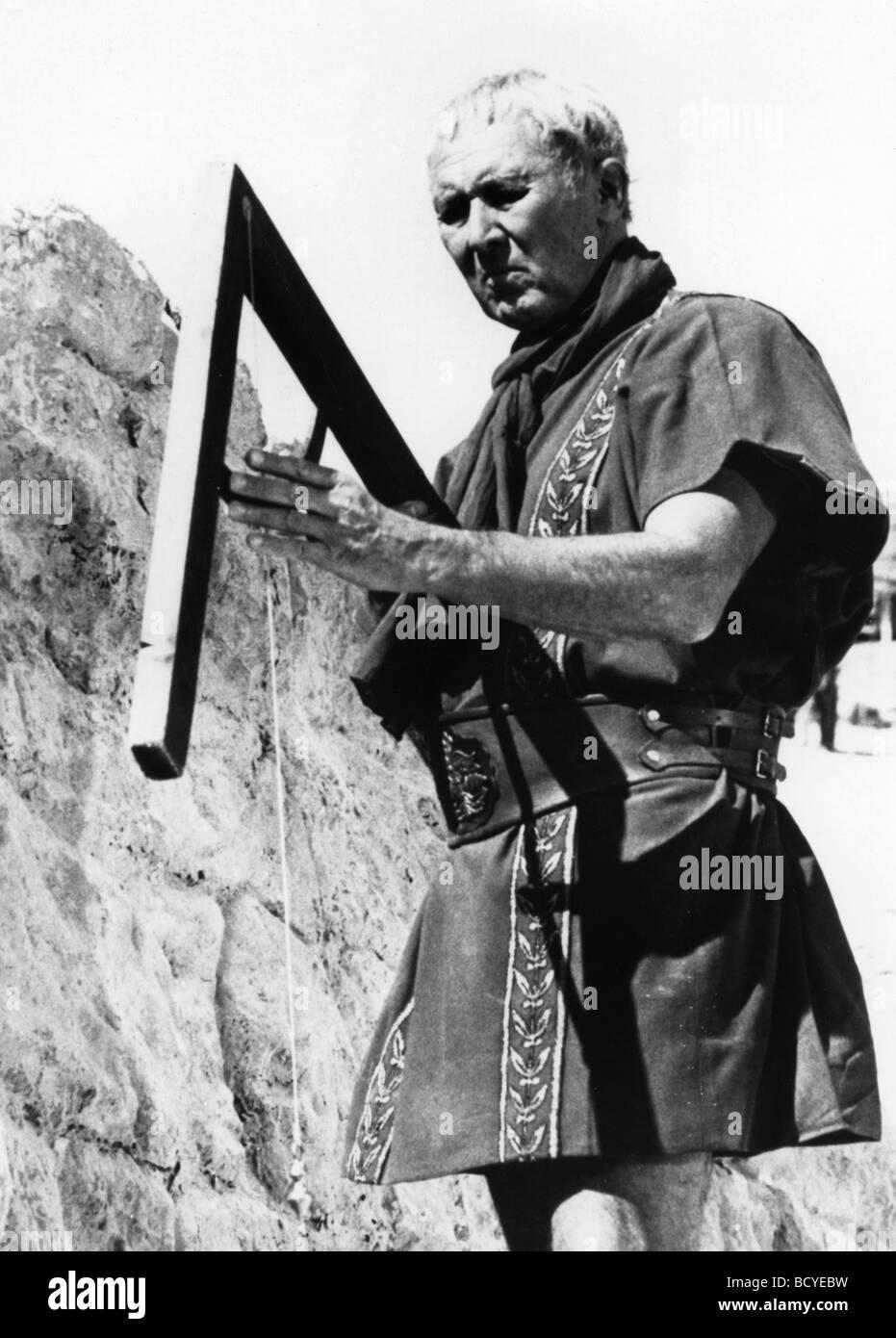 Masada (TV mini series Year : )1981 Director : Boris Sagal Anthony Quayle - Stock Image