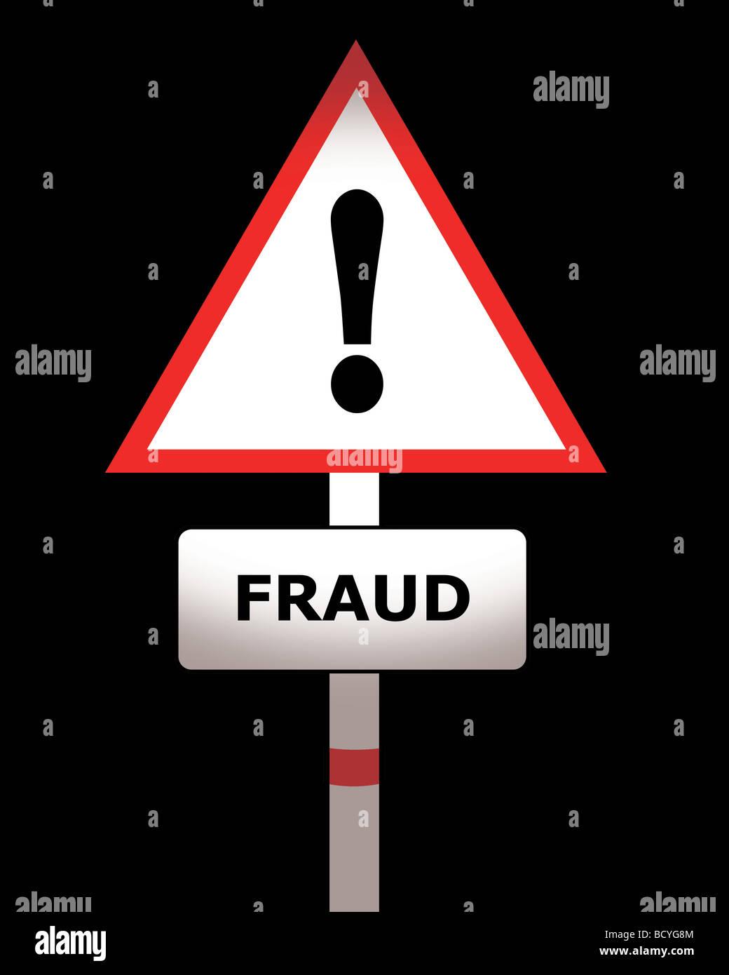 fraud - Stock Image