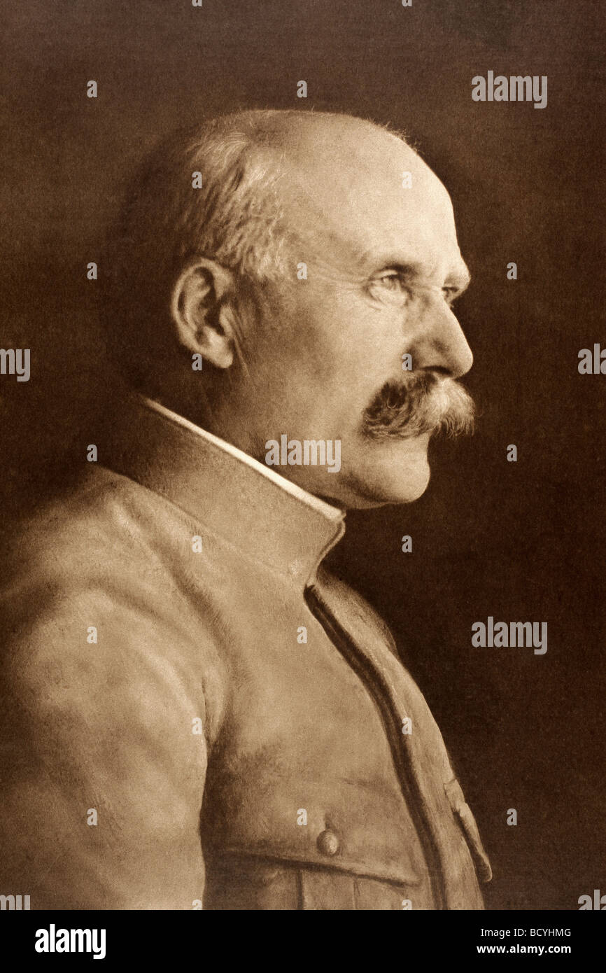 Henri Philippe Petain 1856 to 1951. French army general in First World War and head of Vichy government in Second - Stock Image