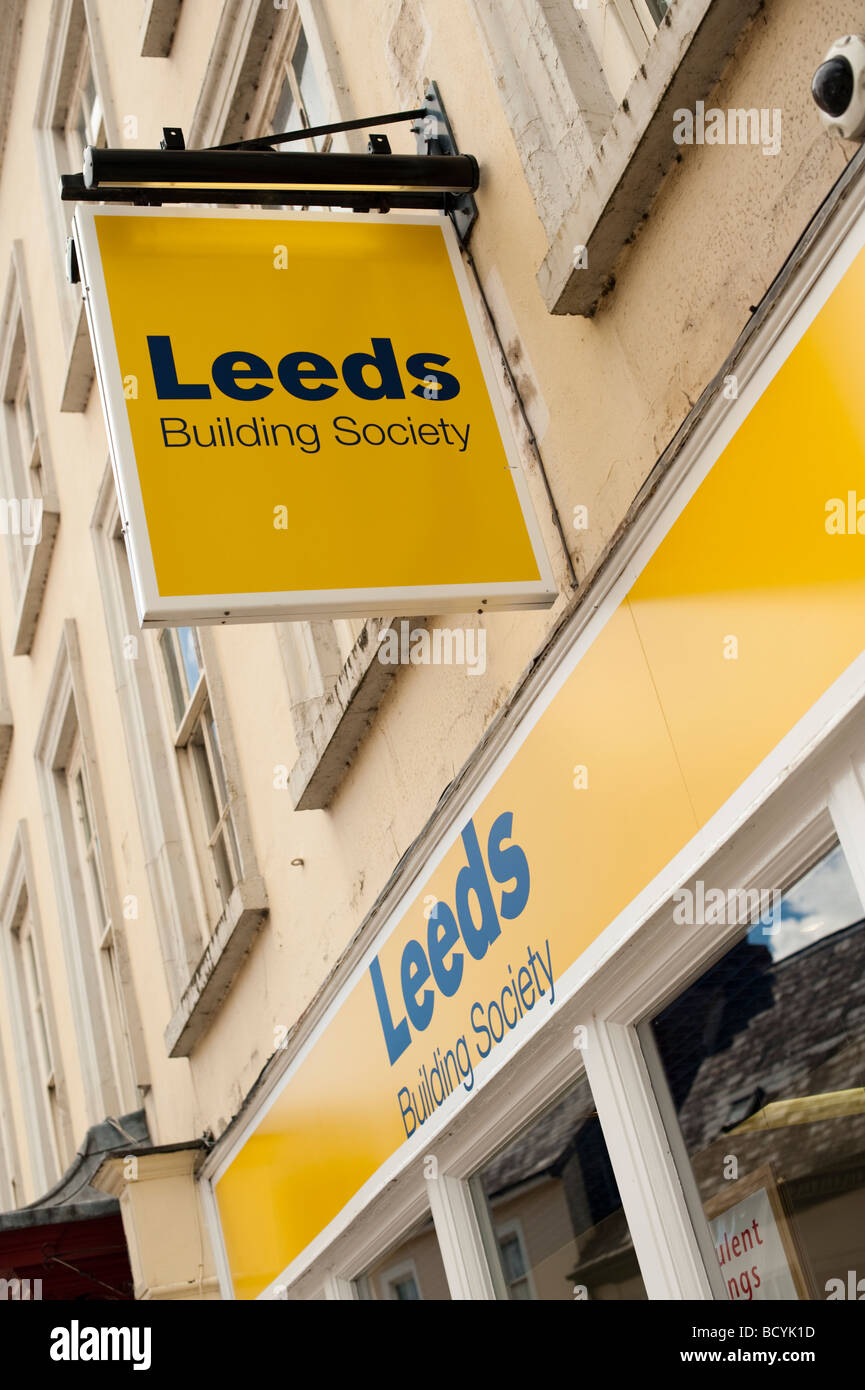 Leeds Building Society - Stock Image