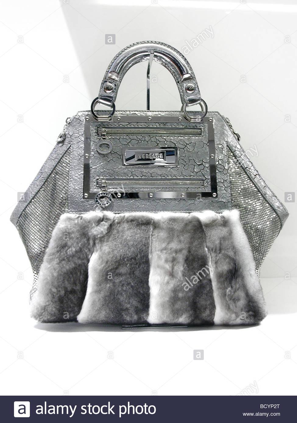 bfa0649a Versace Bags Black White