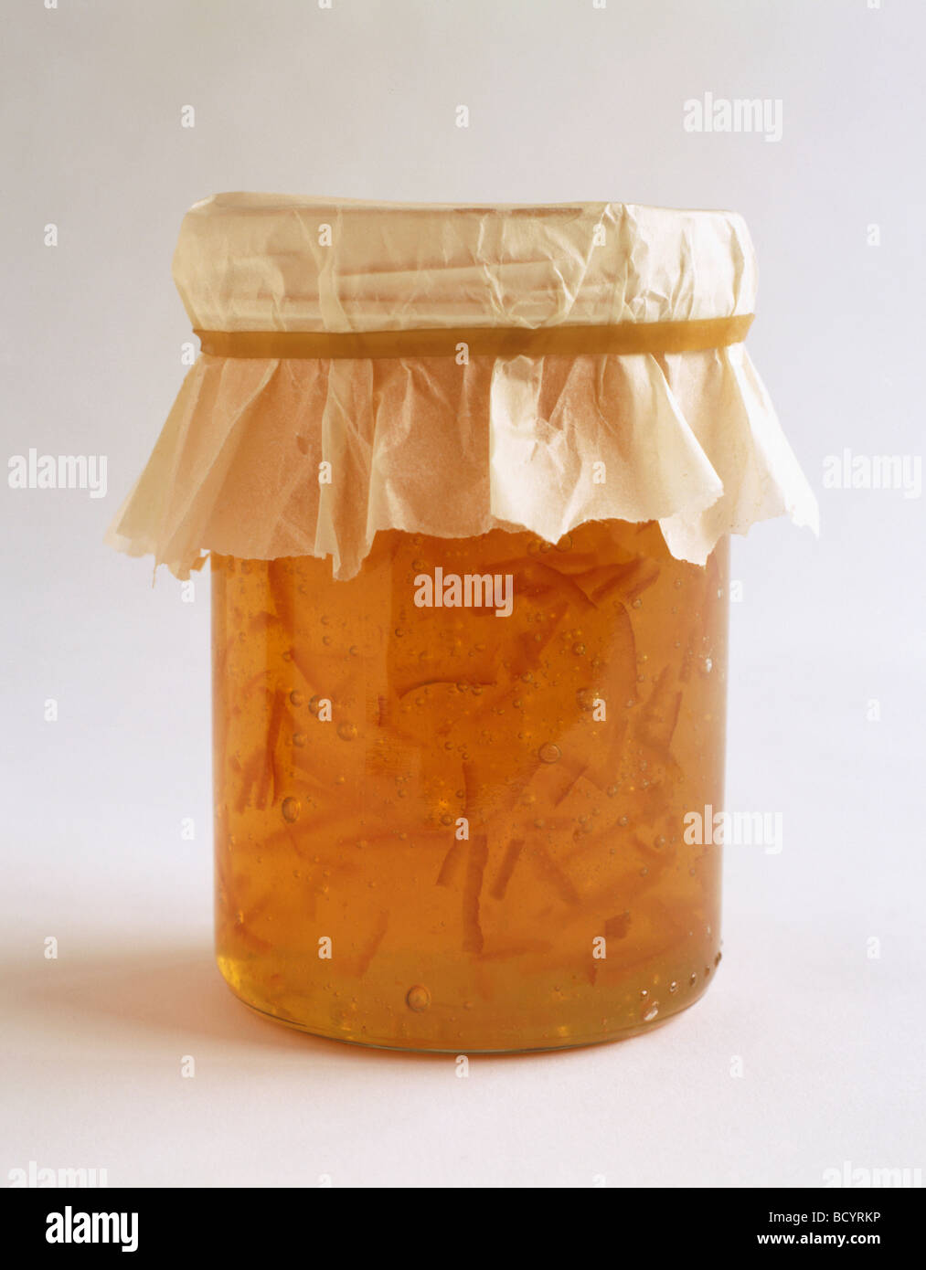 Food - jar of homemade marmalade