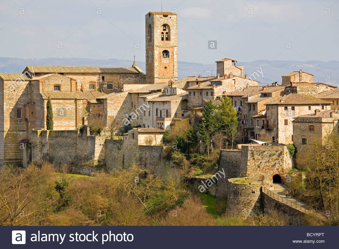 europe, italy, tuscany, colle val d'elsa - Stock Image