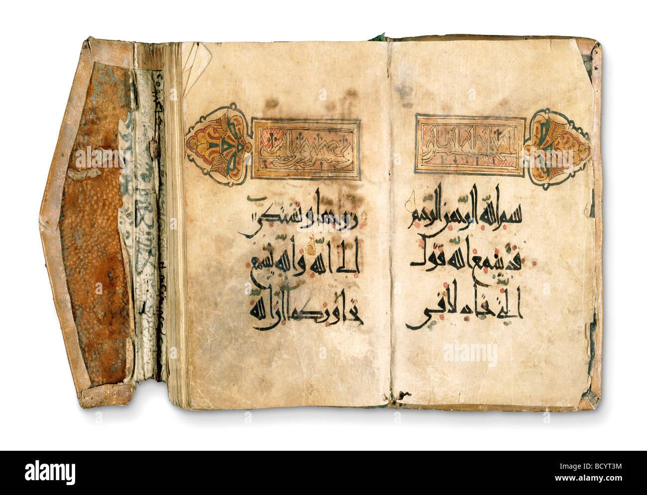 The Koran. Iraq, 17th century - Stock Image