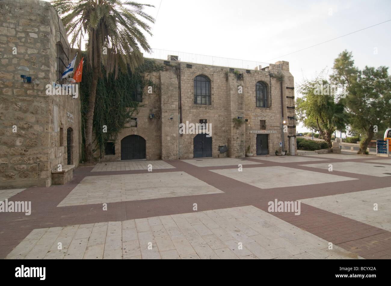 Israel Old City of Jaffa The Arab Hebrew Theatre - Stock Image