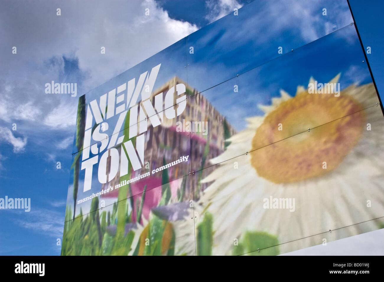 New Islington, area of urban renewal , Manchester, UK - Stock Image