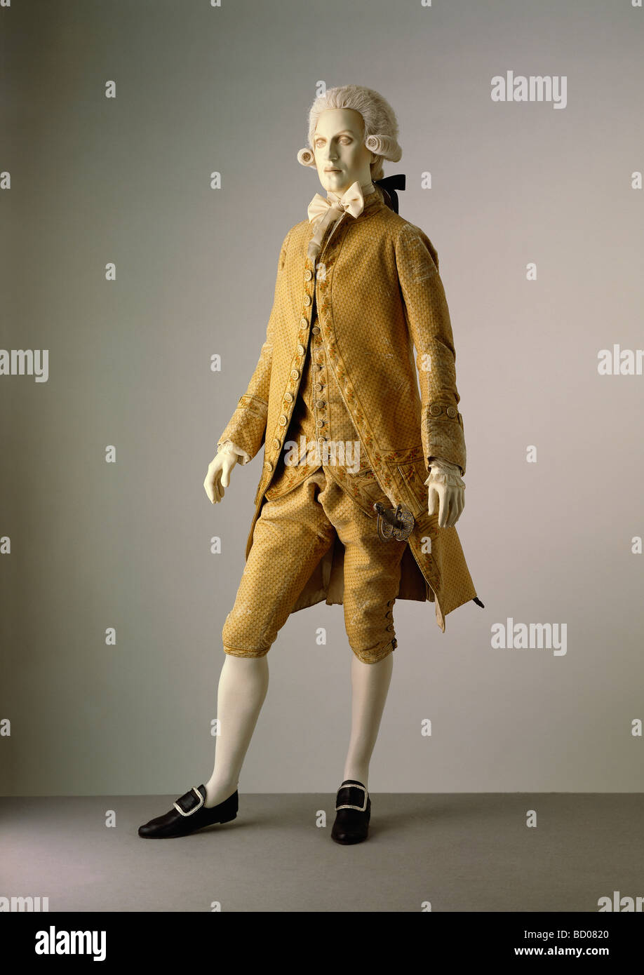 Dress Suit France Late 18th Century Stock Photo 25207224 Alamy