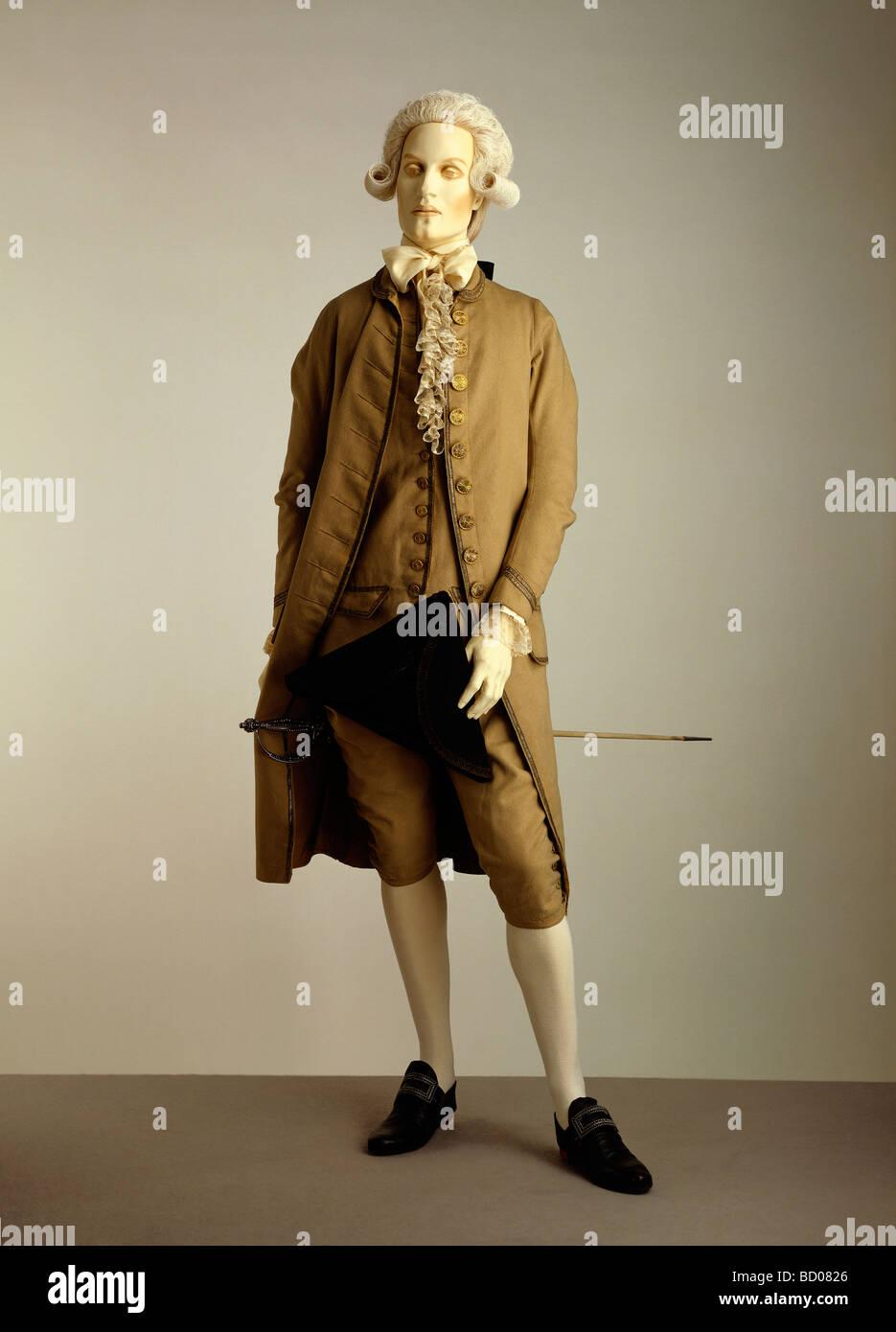 18th Century Men Fashion Stock Photos 18th Century Men Fashion