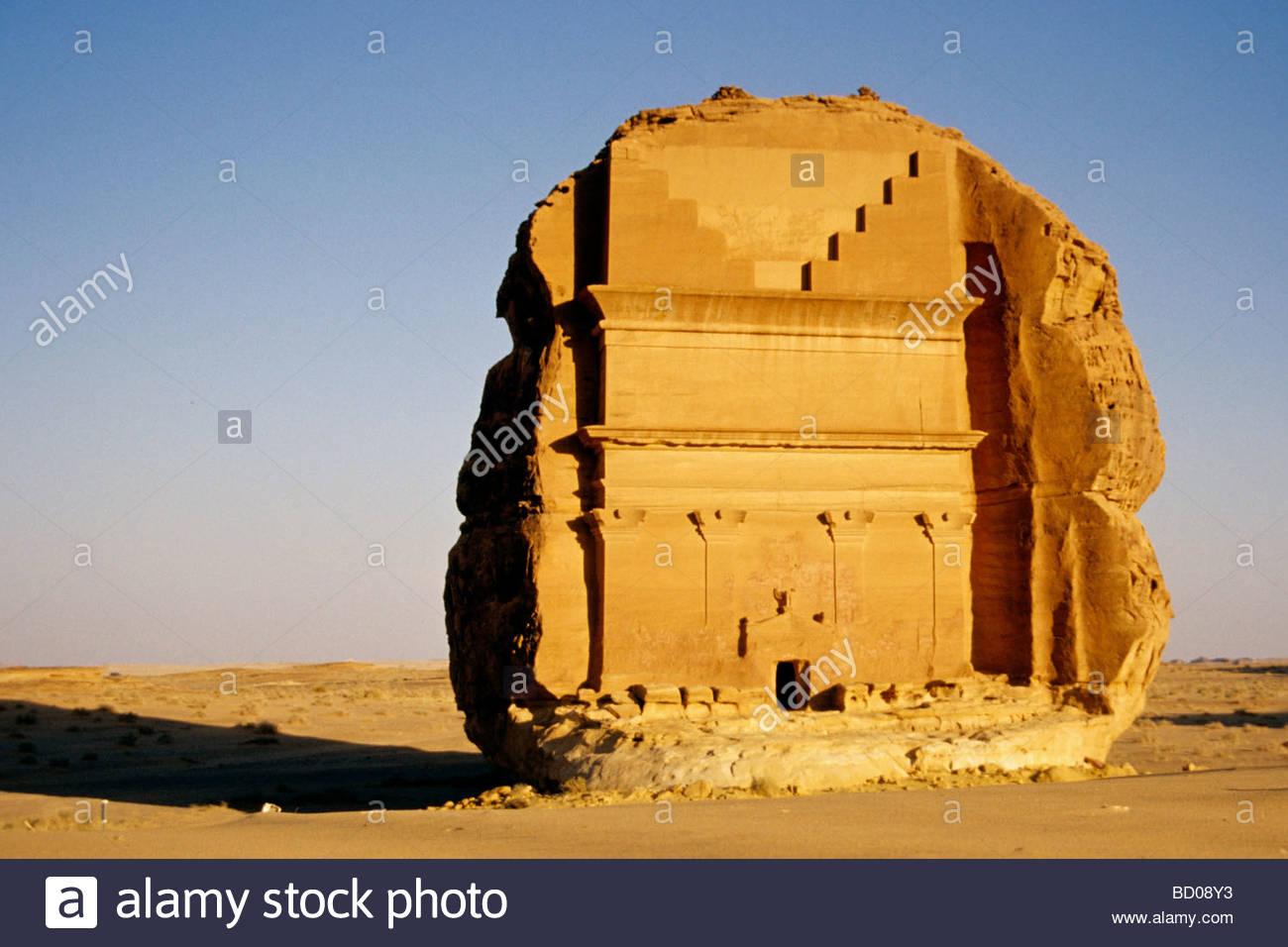 dedan, saudi arabian, asia - Stock Image
