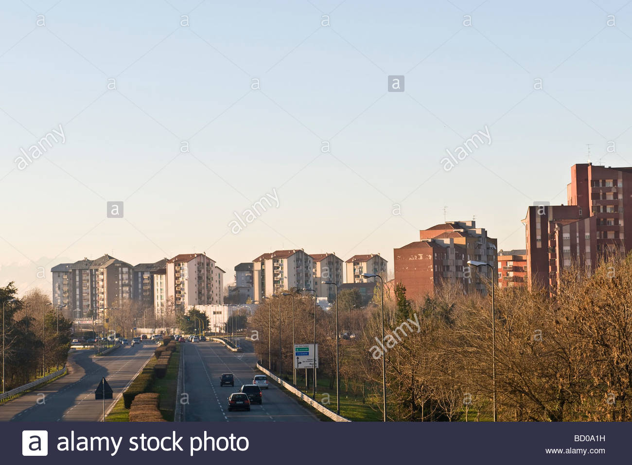 hinterland of milan, bisceglie, lombardy, italy - Stock Image