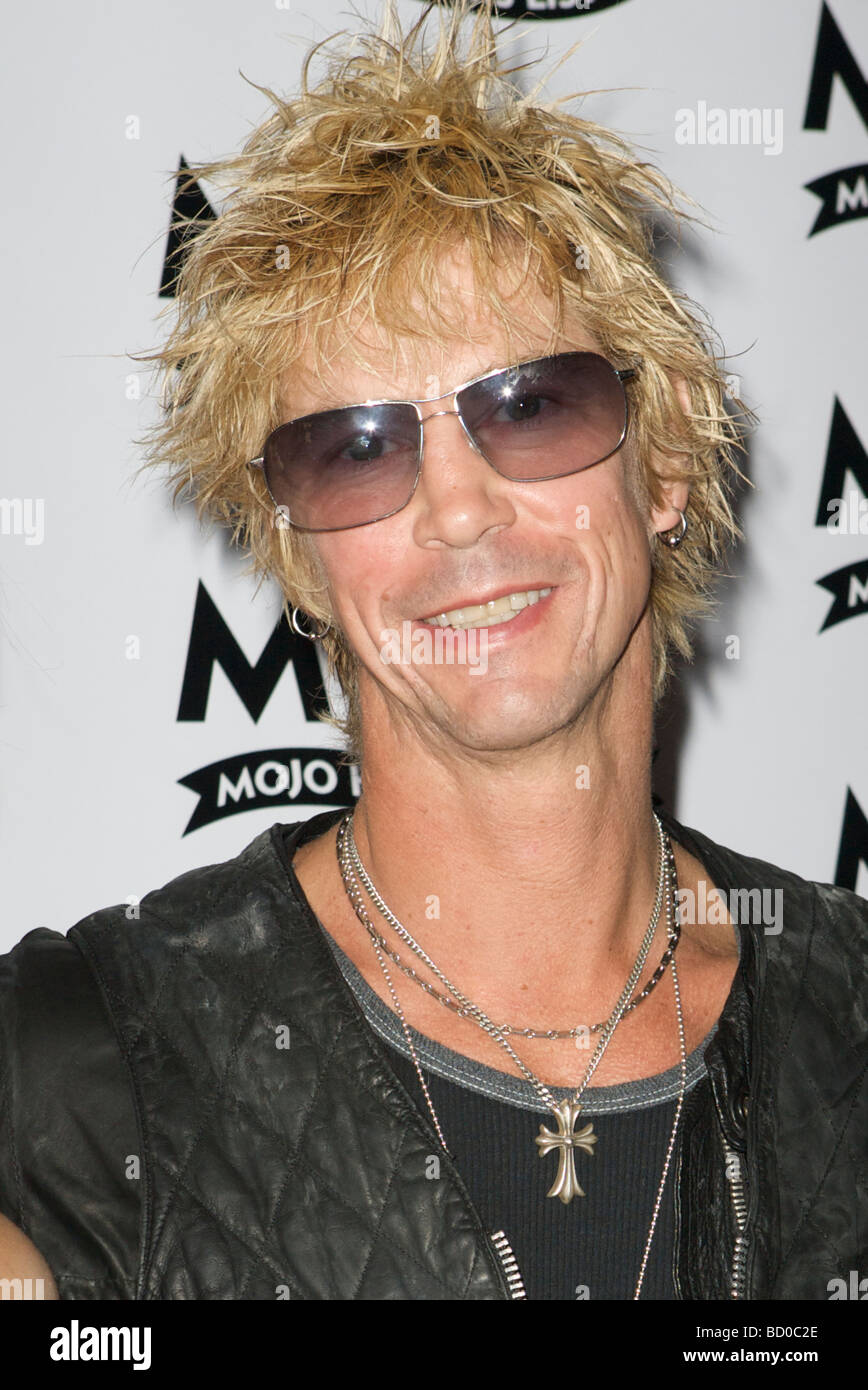 LONDON 11 June Pic shows Duff McKagan attending the Mojo Honours List The Brewery London 11th of June 2009 - Stock Image